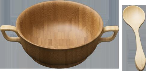スープカップセット<ブラウン>