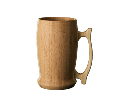 beer mug -brown-