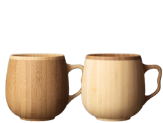 cafe au lait mug -pair-
