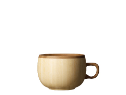 coffee cup -white-